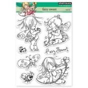 FAIRY SWEET Clear Stamp Set Mo Manning Collection from Penny Black