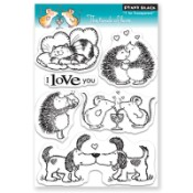 THE TOUCH OF LOVE Clear Stamp Set from Penny Black