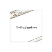 New! HELLO SUNSHINE Cling Rubber Stamp Pink Lemonade Collection from Magnolia