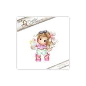 **PREORDER** New! PINK LEMONADE TILDA Cling Rubber Stamp Pink Lemonade Collection from Magnolia
