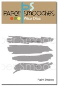 New! PAINT STROKES Dies from Paper Smooches