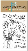 BEST BUDS Clear Stamp Set from Paper Smooches