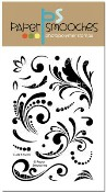 New! CURLS & SWIRLS Clear Stamp Set from Paper Smooches