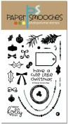 HOLLY JOLLY Clear Stamp Set from Paper Smooches