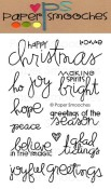 JOYFUL GREETINGS Clear Stamp Set from Paper Smooches