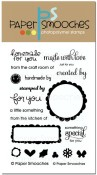 JUST FOR YOU Clear Stamp Set from Paper Smooches