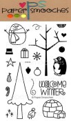WINTER GROVES Clear Stamp Set from Paper Smooches