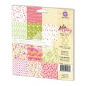**REORDER**  BLUSH 6x6 DOUBLE-SIDED PAPER PAD Julie Nutting Collection from Prima Marketing