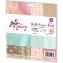 New! JULIE NUTTING 6x6 DOUBLE-SIDED PAPER PAD Julie Nutting Collection from Prima Marketing