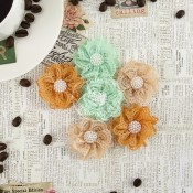 COFFEE BREAK FLOWERS FABRIC CHAI TEA Coffee Break Collection from Prima Marketing