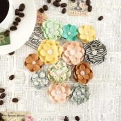 COFFEE BREAK FLOWERS PAPER HOT CHOCOLATE Coffee Break Collection from Prima Marketing