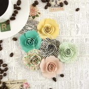 COFFEE BREAK FLOWERS PAPER ICED COFFEE Coffee Break Collection from Prima Marketing