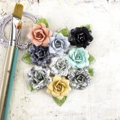 EPIPHANY FLOWERS PAPER MANIFEST Epiphany Collection from Prima Marketing