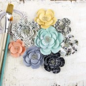 EPIPHANY FLOWERS PAPER ORACLE Epiphany Collection from Prima Marketing