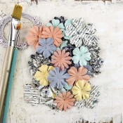 EPIPHANY FLOWERS PAPER UNVEIL Epiphany Collection from Prima Marketing