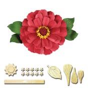 **PREORDER** New! ZINNIA Shapeabilities Create-A-Flower D-Lites Die Set from Spellbinders