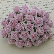 **PREORDER** Wild Orchid Crafts PALE PINK MULBERRY PAPER OPEN ROSES