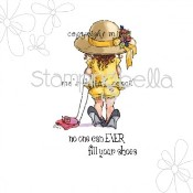 BIG SHOES Rubber Stamp by Mo Manning from Stamping Bella