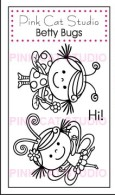 BETTY BUGS Stamp set from Pink Cat Studio