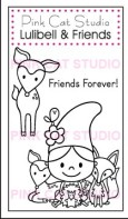 LULIBEL AND FRIENDS Stamp Set from Pink Cat Studio