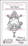 LILY BEE Stamp Set from Pink Cat Studio