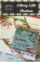 A MERRY LITTLE CHRISTMAS Cross Stitch Chart from Stitching With The Housewives