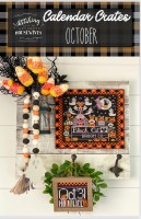 Calendar Crates Series OCTOBER Cross Stitch Chart from Stitching With The Housewives