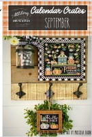 Calendar Crates Series SEPTEMBER Cross Stitch Chart from Stitching With The Housewives