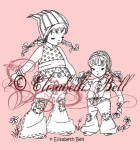 SISTERS Clear Stamp Elisabeth Bell Designs from Belles 'n Whistles