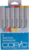 COPIC SKETCH MARKER PERFECT PRIMARIES - 6 Piece Set