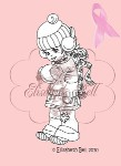 SNOWBALL Clear Stamp Snowbaby Collection Elisabeth Bell Designs from Belles 'N Whistles