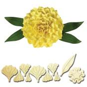 New! CARNATION Shapeabilities Create-A-Flower D-Lites Die Set from Spellbinders