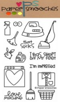 SQUEAKY CLEAN Clear Stamp Set from Paper Smooches