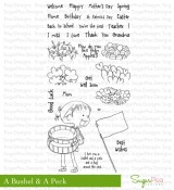 A BUSHEL & A PECK Clear Stamp Set Sweet P Collection from SugarPea Designs