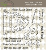 **PREORDER** New! GNOME SWEET GNOME Clear Stamp Set Bean Stalk Collection from SugarPea Designs