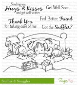 SNIFFLES & SNUGGLES Clear Stamp Set Sweet P Collection from SugarPea Designs