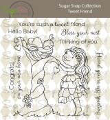 **PREORDER** New! TWEET FRIEND Clear Stamp Set Sugar Snap Collection from SugarPea Designs