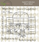 **PREORDER** New! WHAT'S MEW? Clear Stamp Set Sweet P Collection from SugarPea Designs
