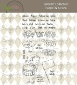 **PREORDER** New! A BUSHEL & A PECK Clear Stamp Set Sweet P Collection from SugarPea Designs