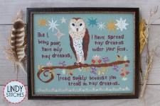 TREAD SOFTLY Cross Stitch Pattern by Lindy Stitches