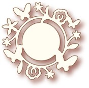 FLOWER CIRCLE Specialty Craft Die from Wild Rose Studio