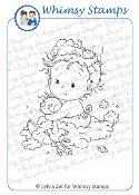 NEW BABY Rubber Stamp Wee Stamps Collection from Whimsy Stamps