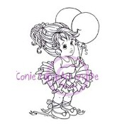 ABBIE Rubber Stamp Conie Fong Collection from Sweet Pea Stamps