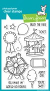 ADMIT ONE Clear Stamp Set from Lawn Fawn