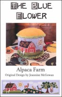 ALPACA FARM Counted Cross Stitch Pattern from The Blue Flower