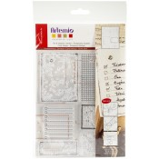 OLD PAPER Clear Stamp Set from Artemio
