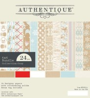COZY 6x6 Paper Pack from Authentique