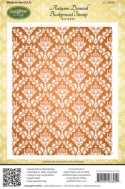 AUTUMN DAMASK BACKGROUND Rubber Stamp from JustRite Papercraft