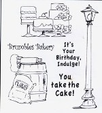 BAKERY SHOPPE Stamp Set Shoppe Windows Collection from Art Impressions