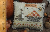BASKETFUL OF AUTUMN TIME Cross Stitch Pattern by With Thy Needle and Thread